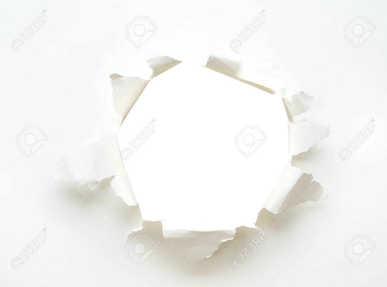 the background hole white empty paper poster