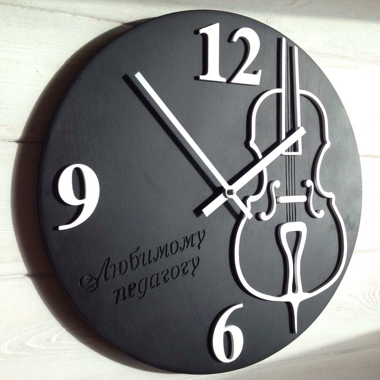 Wall clock with violin music in design wall decoration for wall clock with violin music in design wall decoration for living room present for amipublicfo Images
