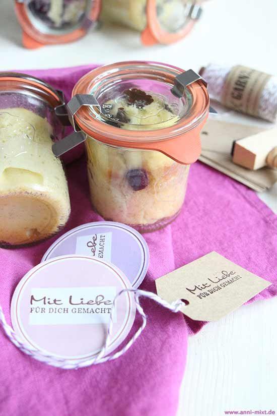 Kuchen Im Glas Jar Kuchen Brot Pinterest Desserts Kuchen Und