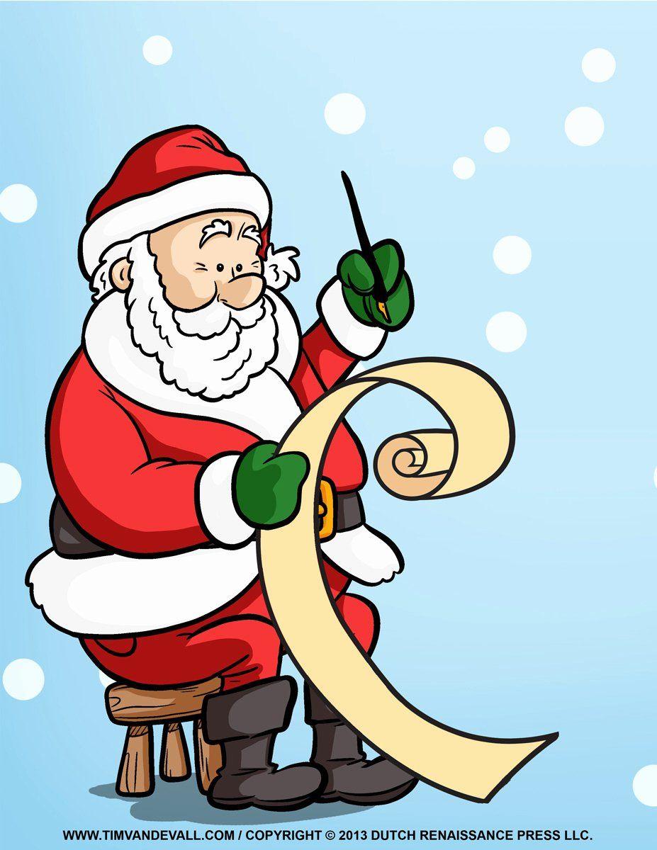 Santa Letter Clipart