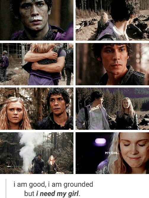Bellarke tumblr #The100   The 100 ♥️   The 100 quotes, Bellamy the