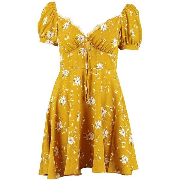 Boohoo Bohemian Tiered Bustier Tea Dress Very Cheap Cheap Online Discount 100% Authentic Supply Online Order Online eN0Ayw