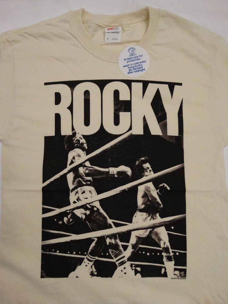Creed Movie Apollo Creed Home Rocky Licensed Adult T-Shirt