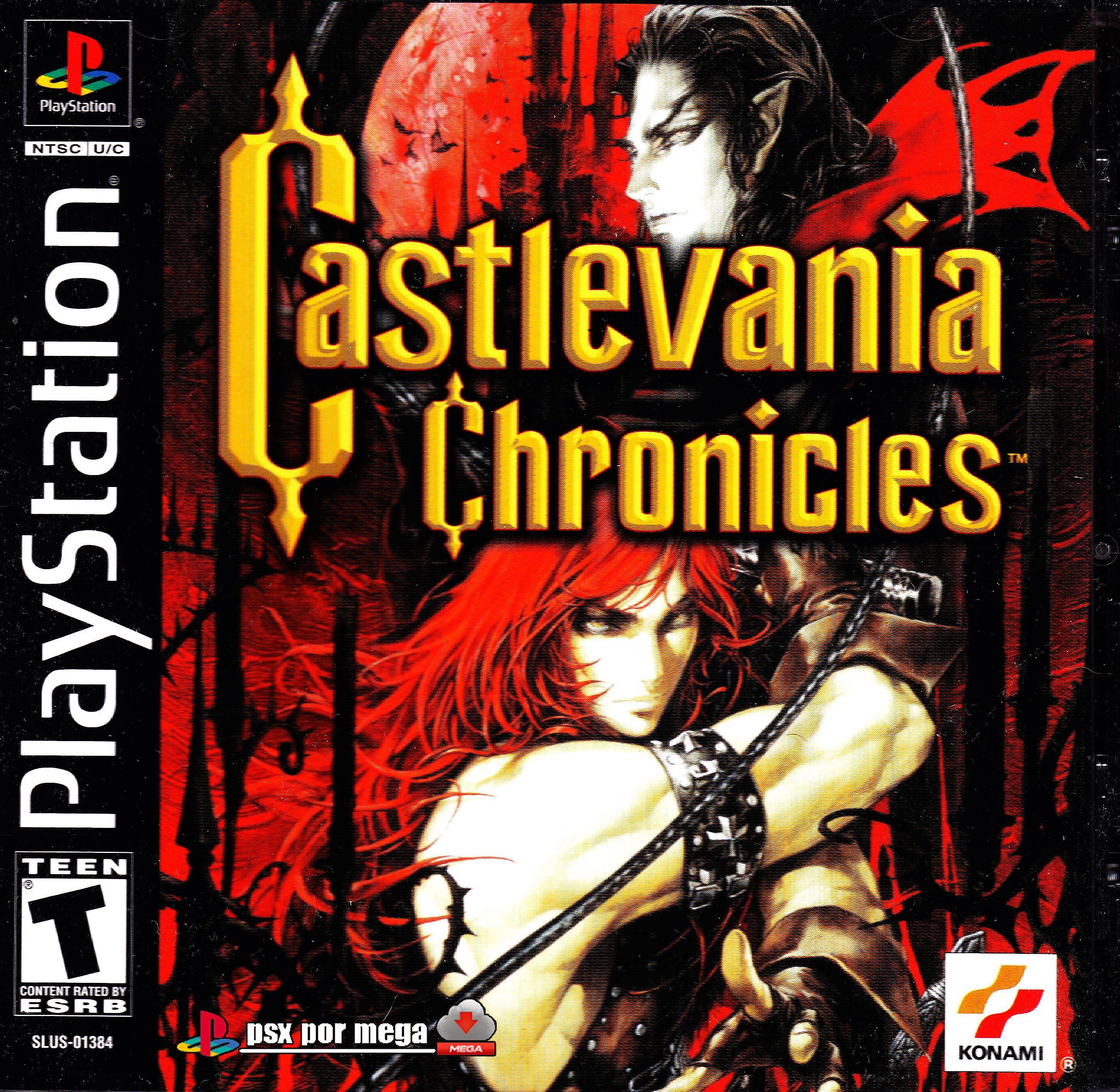 Castlevania Chronicles Psone Cover Hd Juegos Psx Juegos De Ps1 Juegos Retro