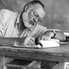 """A writer's problem does not change. He himself changes and the world he lives in changes but his problem remains the same. It is always how to write truly and having found what is true, to project it is such a way that it becomes a part of the experience of the person who reads it.'""    --Ernest Hemingway"