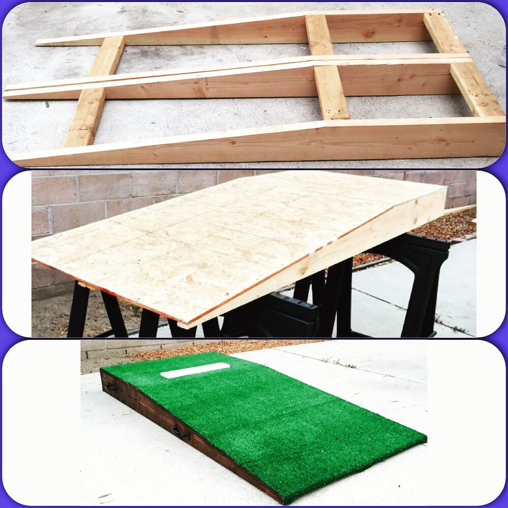 diy portable pitching mound discount softball pitching machines