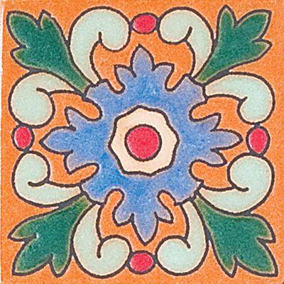 "Spanish Crest, 3X3"" Decorative Insert"