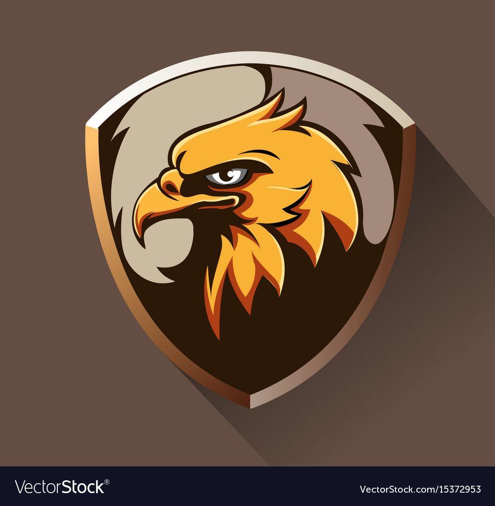 Eagle head vector image on Ilustrasi, Sketsa, Seni