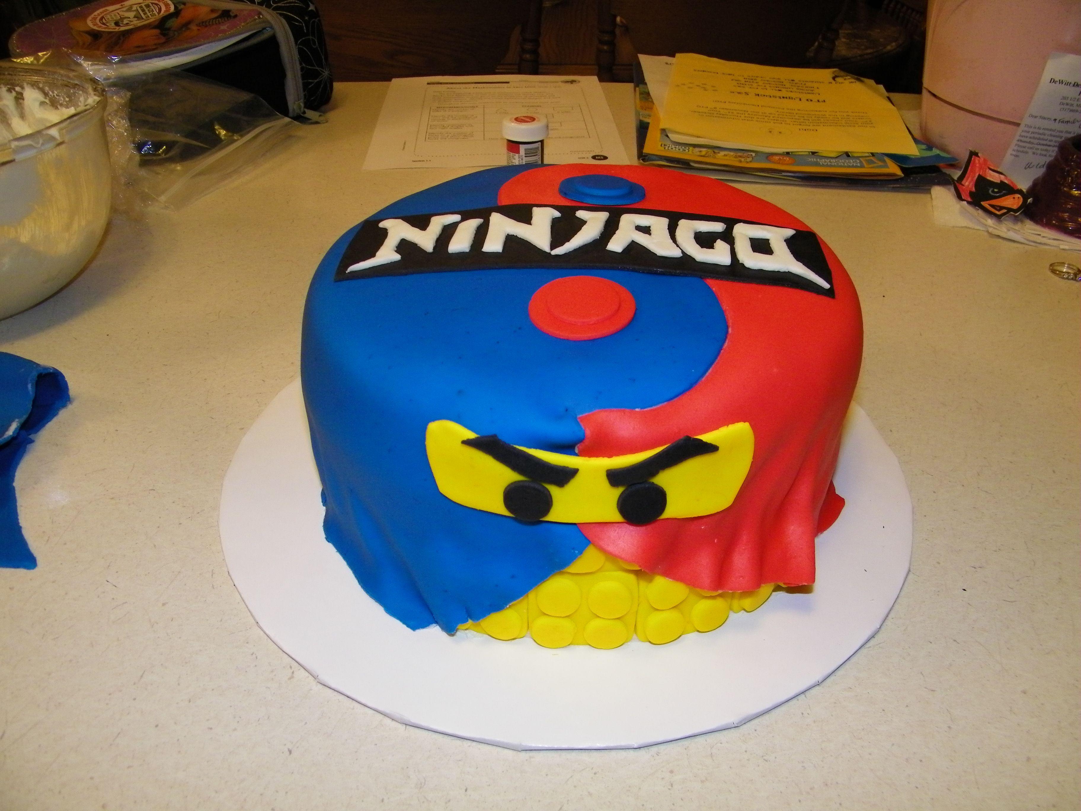 lego ninjago cake cakes pinterest