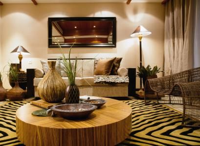 African inspired living room | African-Inspired Decor ...