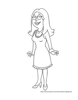 American Dad Coloring Pages Cartoon Coloring Pages American Dad