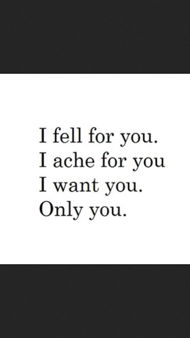 I do ache for U Baby!! When I\'m away from YOU I just can\'t ...