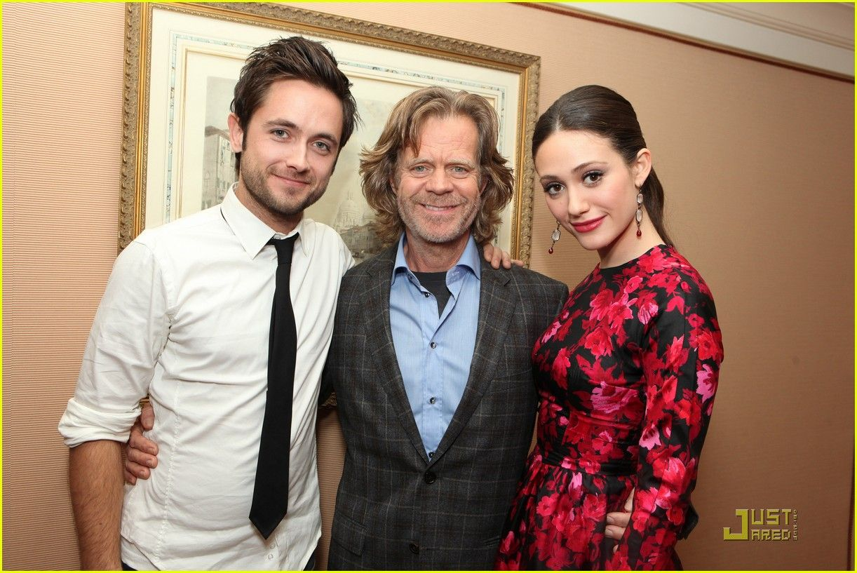 Justin Chatwin William H Macy Emmy Rossum Famous