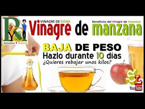 dieta para adelgazar vinagre de manzana