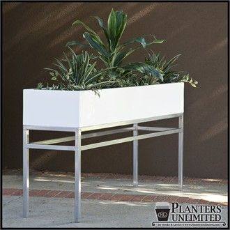 office planter boxes. Large Office Planters With Metal Plant Stands. An Alternative Idea Instead Of A Permanent Planter Box. Using Several However We Wish To Lay Out. Boxes
