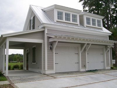 G0039 Is A 3 Car Garage With Bonus Space Above The Overall