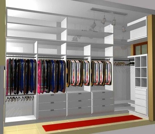 Unique space saving closets google search walk in - Small closet design layout ...