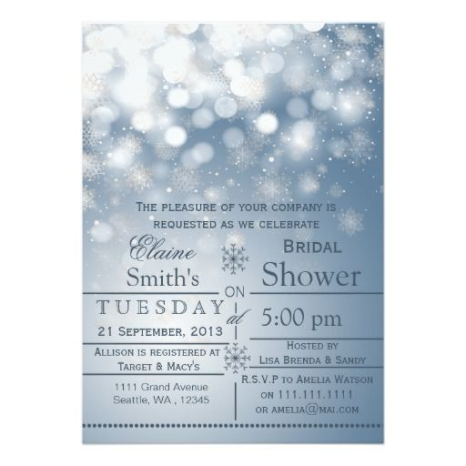 Blue snowflakes winter bridal shower invite see more ideas about blue snowflakes winter bridal shower invite filmwisefo Choice Image