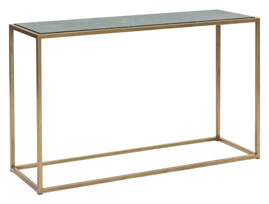Siena Console Table Contemporary Stone Glass Metal Console Table By Tom Faulkner Console Table Furniture Table