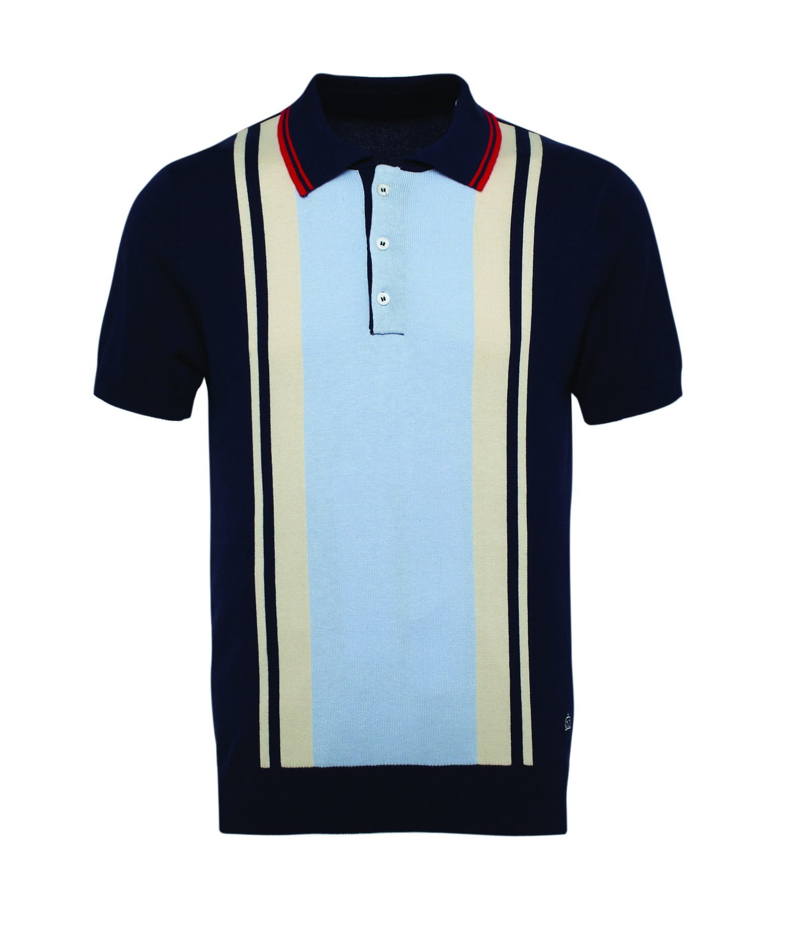 Merc Men's Bramham Knitted Polo | Polo shirt style