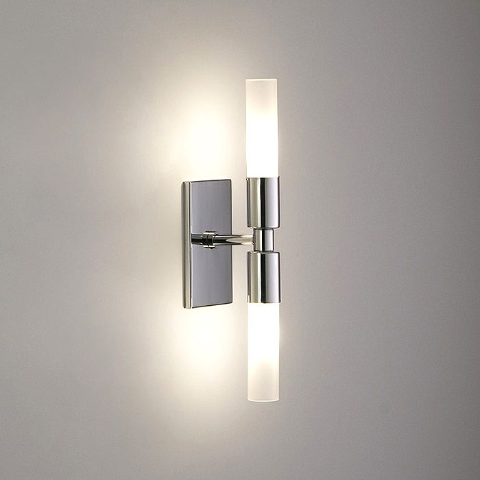 Master bathroom modulightor rico 2 mount horizontally above wall sconces lighting wall sconces as the star light in your aloadofball Choice Image