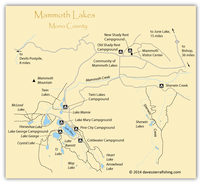 mammoth lake ca map Pin On Camping Life mammoth lake ca map