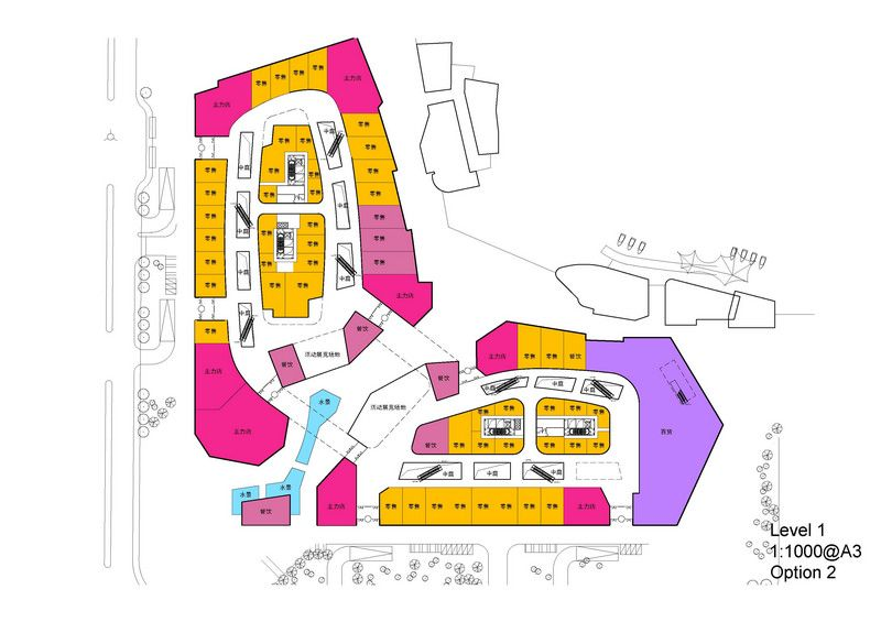 shopping mall plan layout - Google Search | MALL | Shopping