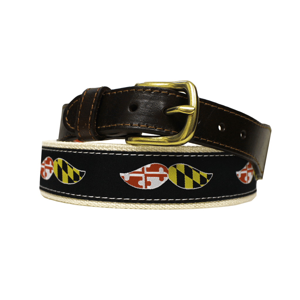 Maryland Boh Mustache Belt With Images Belt Mustache Natty Boh