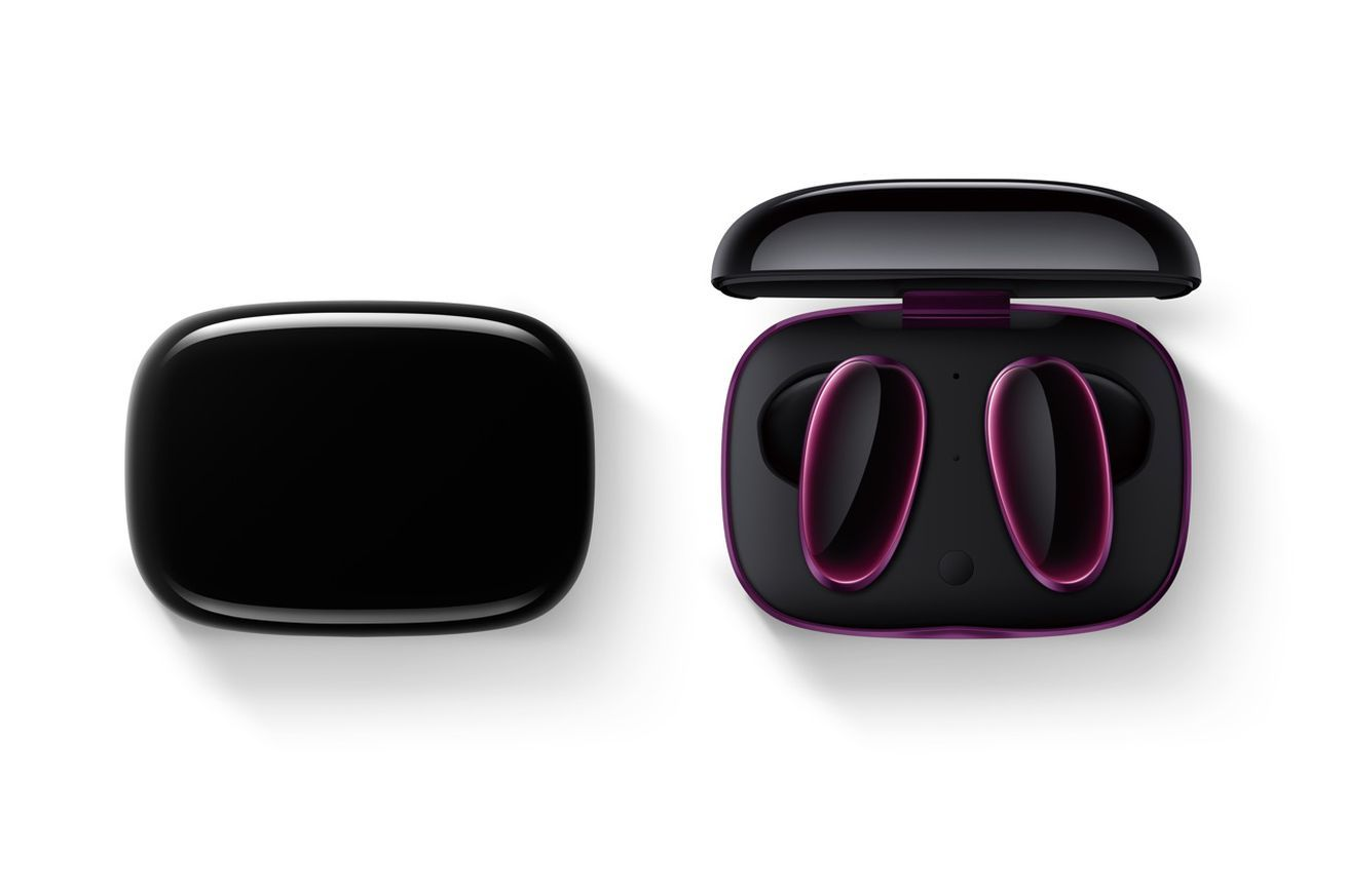 Oppos O Free Truly Wireless Headphones Are Designed To Match The Find X Wireless Earbuds Bluetooth Headset Wireless Bluetooth