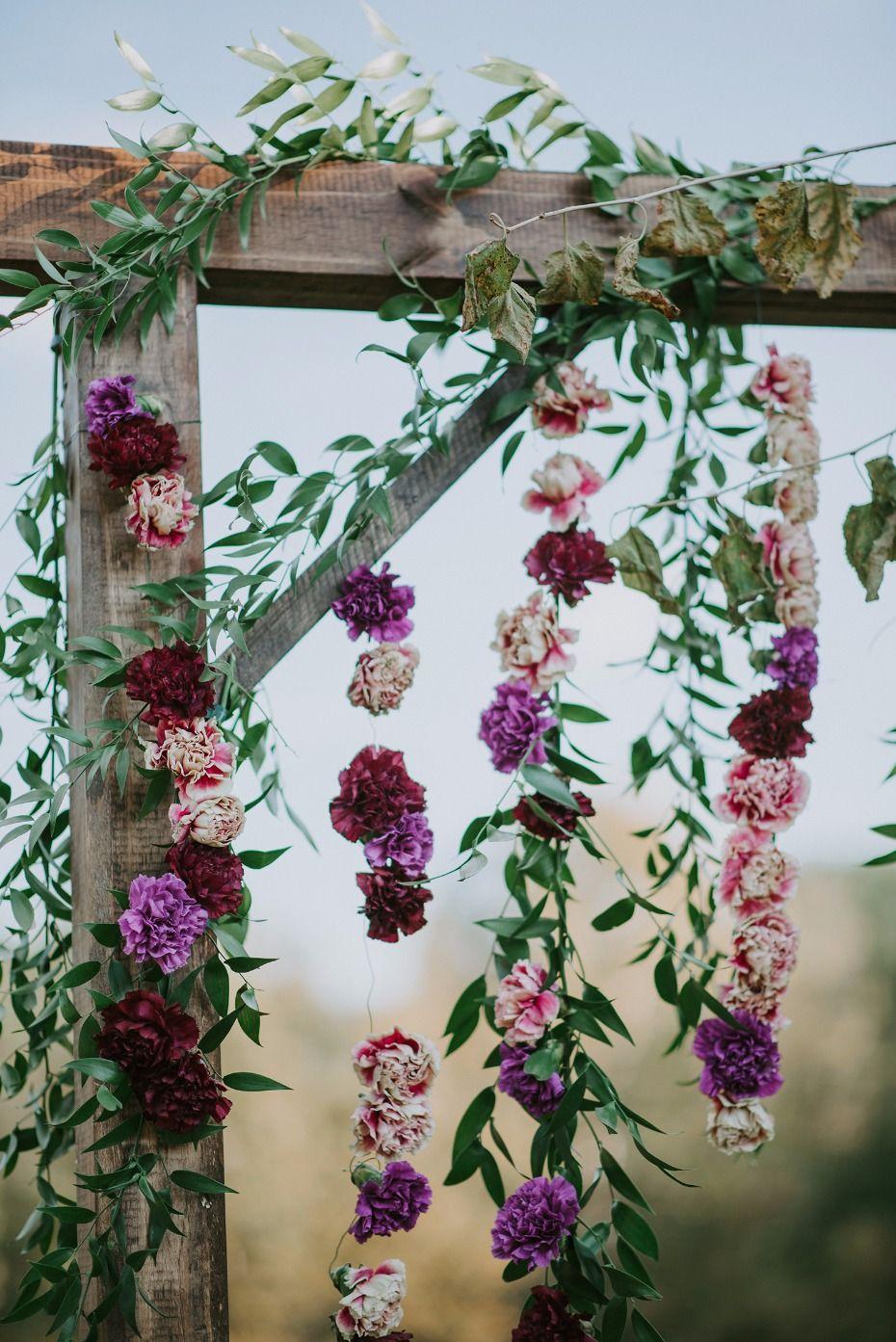 A vintage boho wedding with lots of diy details wedding