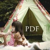Tee Pee Tent Sewing Tutorial - via @Craftsy