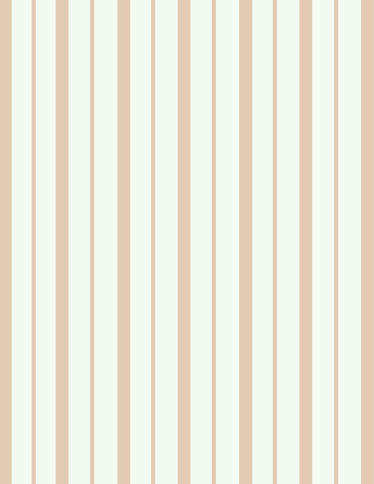 Blue stripe wallpaper ebay - Coffee Striped Wallpaper