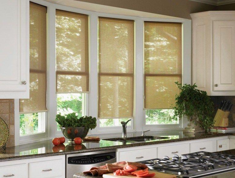 33 Stylish Kitchen Window Blinds Ideas Shade