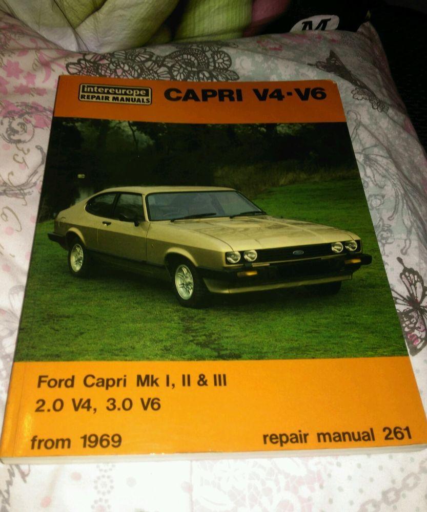FORD CAPRI MK1,2,3 3000 GT,2000 GT,V6,V4