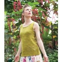 Butterfly Fairy Tank Pattern; Izumi Ouchi; Enchanted Knits 2014 | InterweaveStore.com