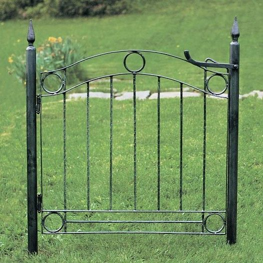 Country Cottage Wrought Iron Garden Gate Iron Garden Gates