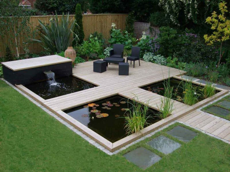wie einen wassergarten f r extravaganz selbs anzulegen garten terrasse ideen garden. Black Bedroom Furniture Sets. Home Design Ideas