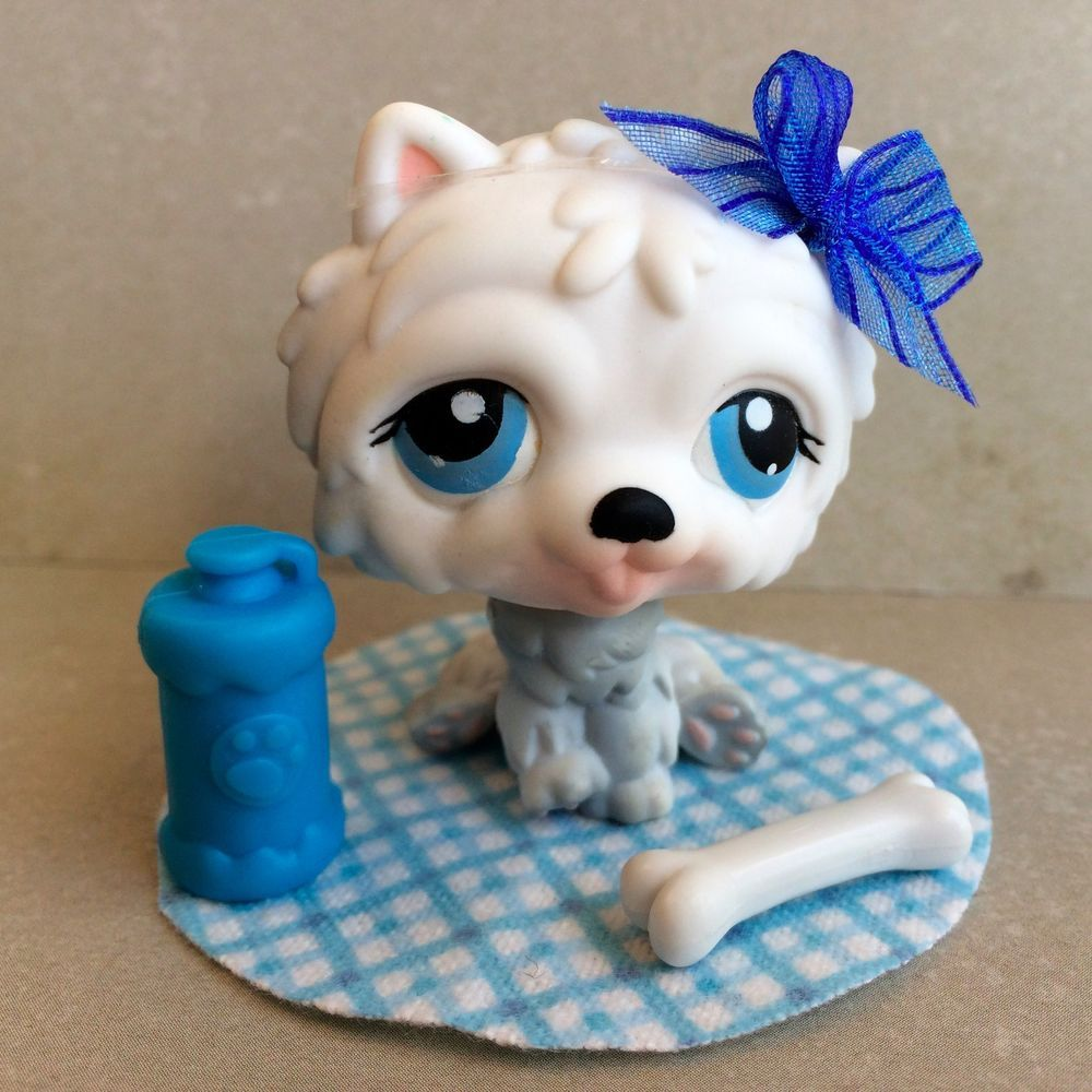 Authentic Littlest Pet Shop CHOW #384 Hasbro LPS