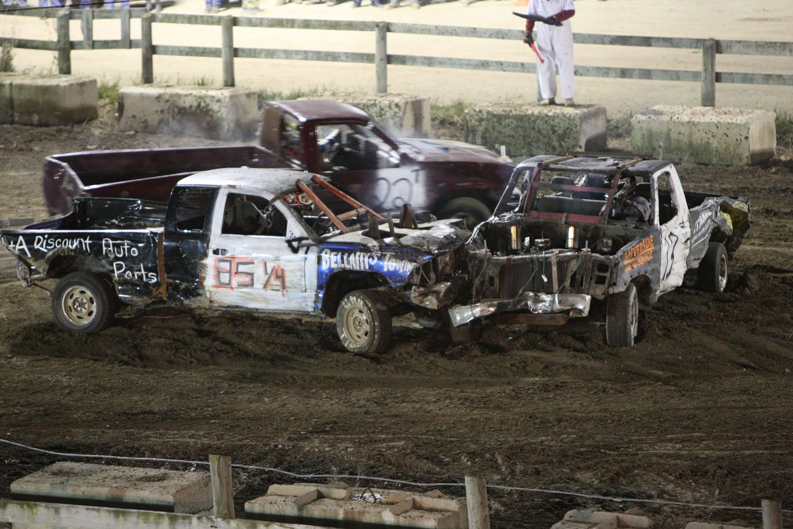 markhamfair demolition derby cars