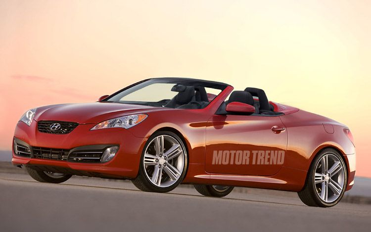 Great Hyundai Genesis Convertible