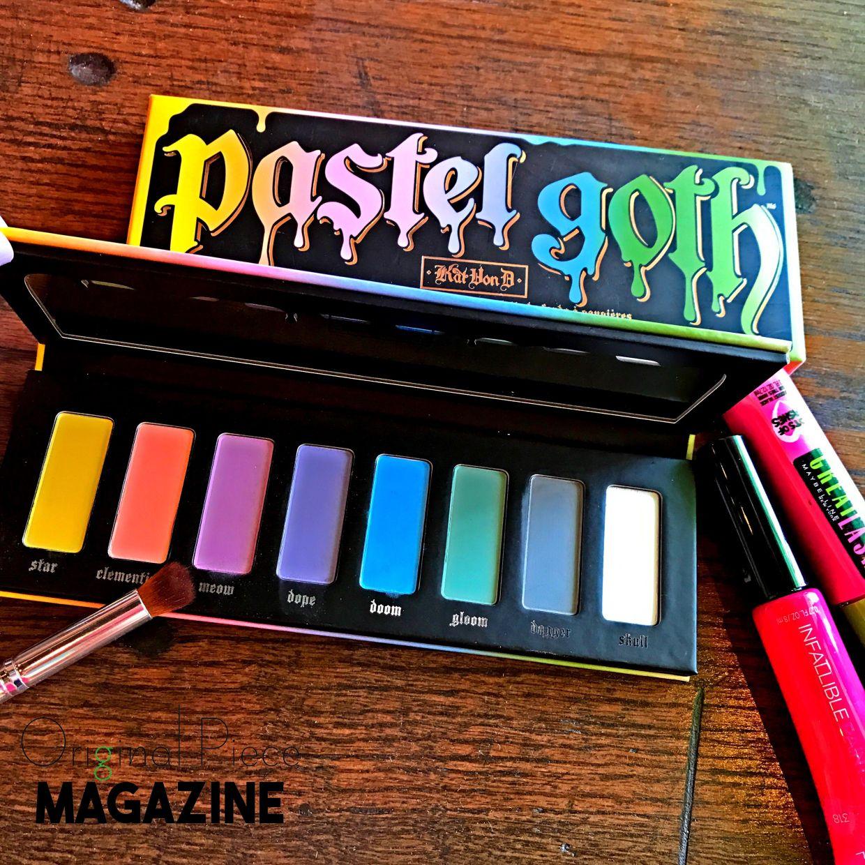 Pastel Goth Girl Pastel goth, Goth, Makeup palette