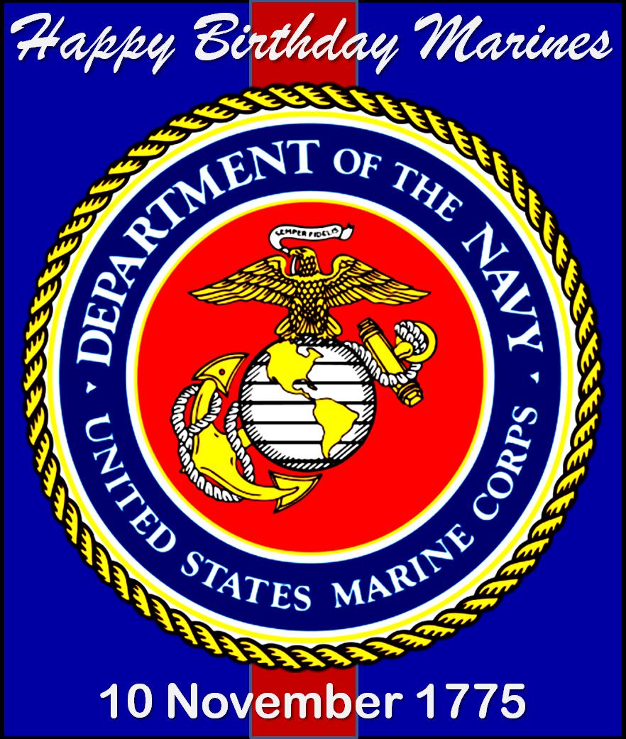United States Marine Corps Birthday Marine corps veteran