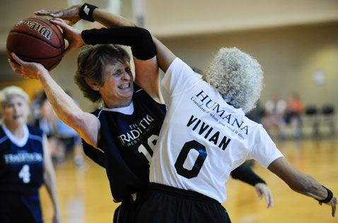 Spry Citizens Compete in Senior Games (With images