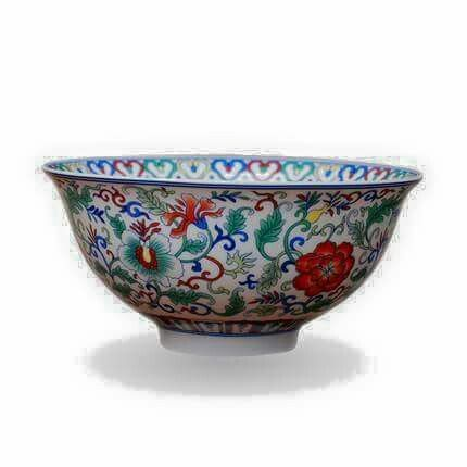 Nyonya Peranakan Bowl Decorative Bowls Chinese Porcelain Bowl