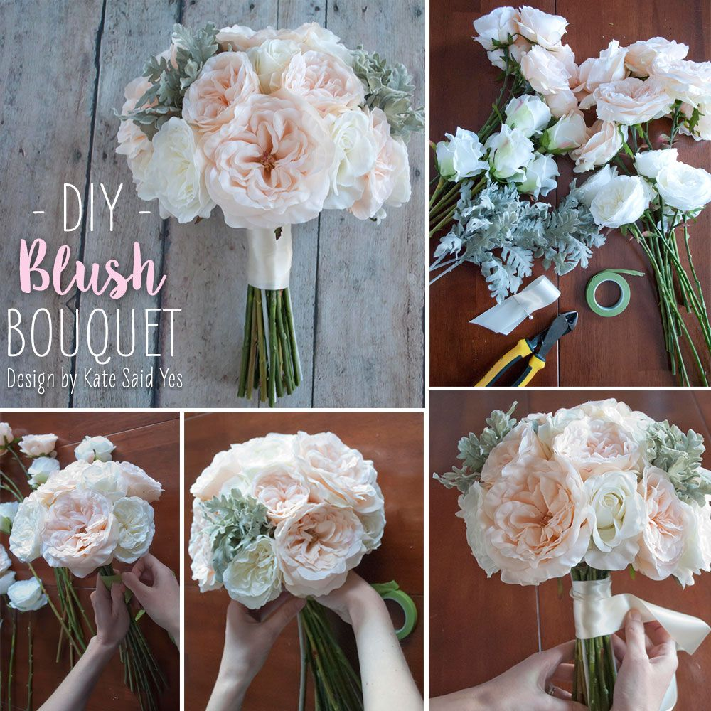 Diy Wedding Flower Bouquet: Follow This Simple DIY And Make Your Own Wedding Bouquets