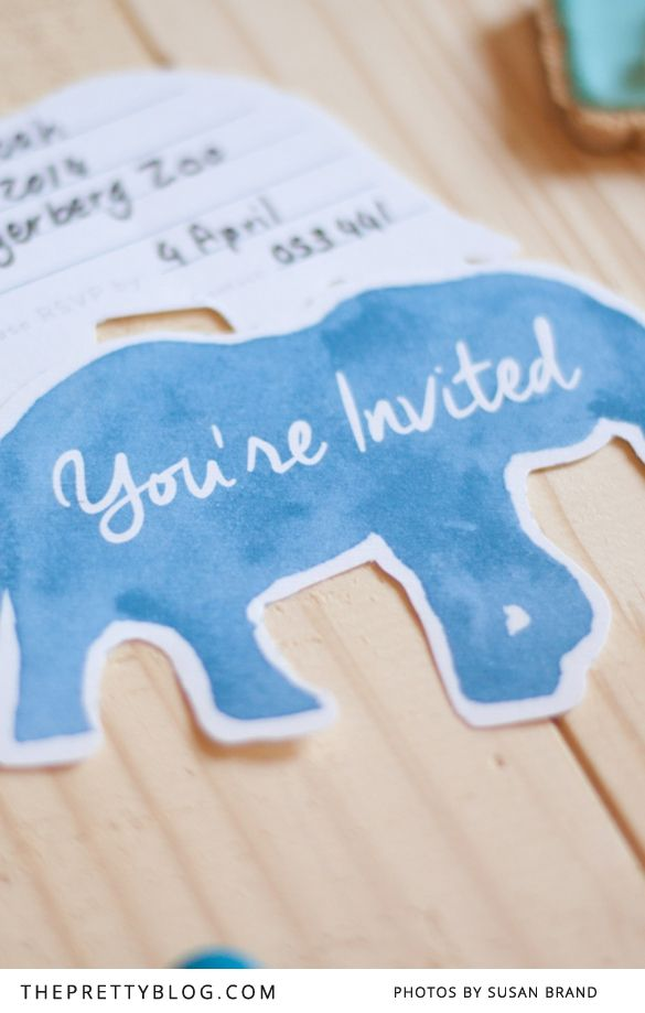 Animal Kids Party Invites | Themed parties, Animal and Zoo birthday