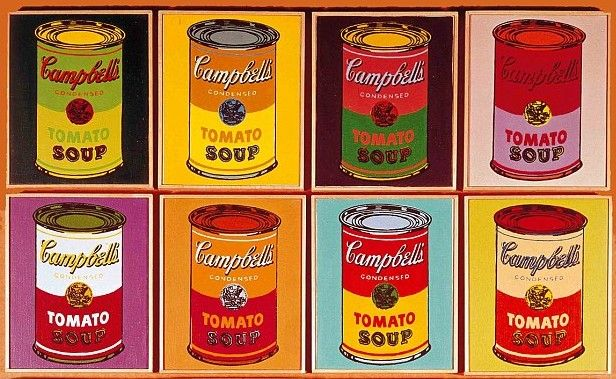 75-cent Warhols — Campbell's to introduce Warhol-inspired soup cans...