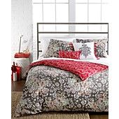Sunset and Vines Capri 5 Piece Comforter and Duvet Cover Sets