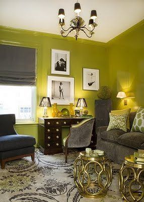 Benjamin Moore Color Of The Year 2013 benjamin moore wall colour: dark celery 2146-10 accent colour