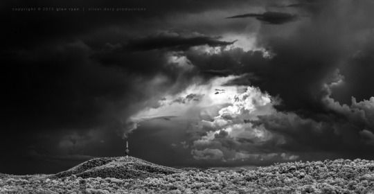 Storms over Black Mountain - Canberra - Jan 2015